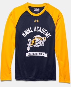 Boys' Navy UA Tech™ Raglan T-Shirt
