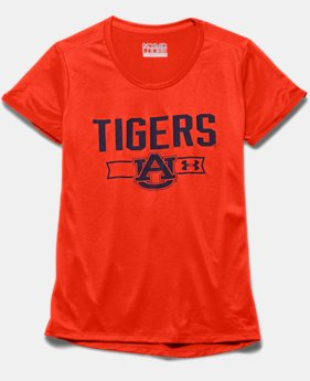 Girls' Auburn UA Tech™ T-Shirt