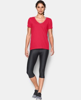 Best Seller Women's Charged Cotton® Scoop V-Neck  2 Colors $24.99