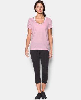 Women's Charged Cotton® Scoop V-Neck   $18.99