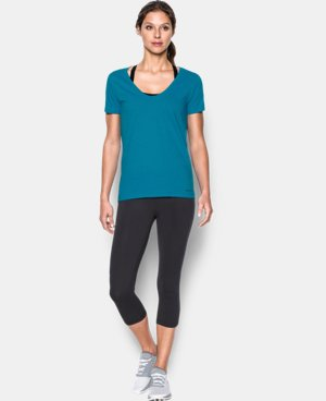 Women's Charged Cotton® Scoop V-Neck  1 Color $18.99