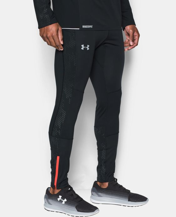 Men's UA No Breaks WINDSTOPPER® Run Leggings LIMITED TIME: FREE SHIPPING  $159.99
