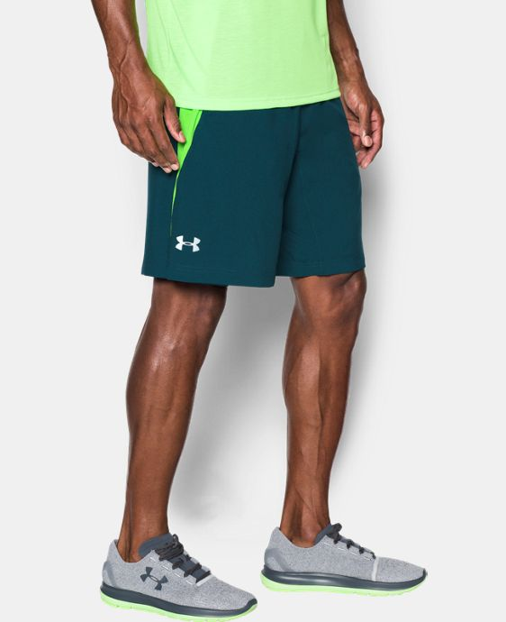 "Men's UA Launch Run 9"" Printed Shorts LIMITED TIME: FREE U.S. SHIPPING 1 Color $22.49 to $29.99"