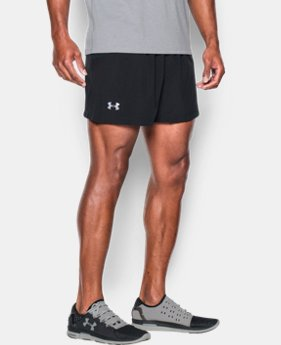 "Men's UA Performance Run 5"" Shorts  1 Color $27.99"