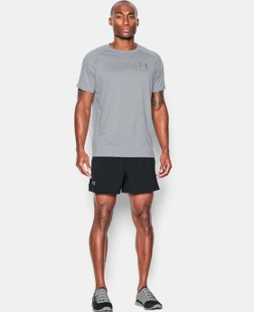 "New Arrival  Men's UA Performance Run 5"" Shorts LIMITED TIME: FREE SHIPPING 1 Color $59.99"