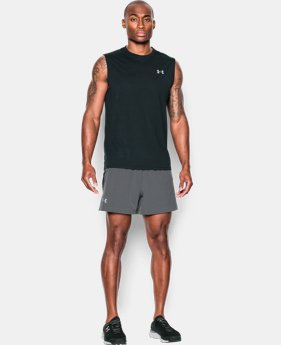 "Men's UA Performance Run 5"" Shorts LIMITED TIME: FREE U.S. SHIPPING  $37.99"