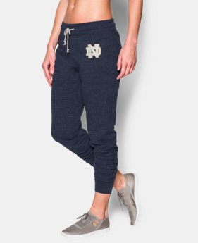 Women's UA Charged Cotton® Tri-Blend Notre Dame Pant  1 Color $28.49