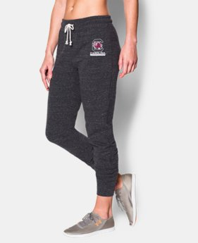 Women's UA Charged Cotton® Tri-Blend South Carolina Pant  1 Color $37.99