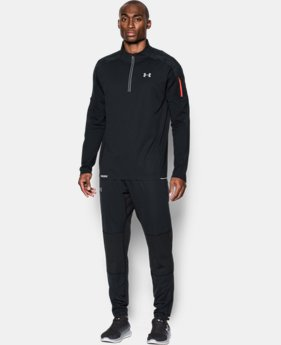 New Arrival Men's UA Run WINDSTOPPER® ¼ Zip   $149.99