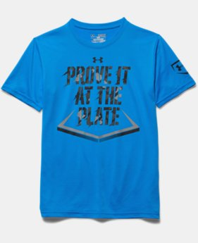 Boys' UA Prove It At The Plate T-Shirt