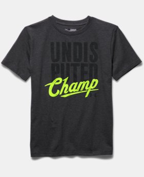 Boys' UA Undisputed Champ T-Shirt