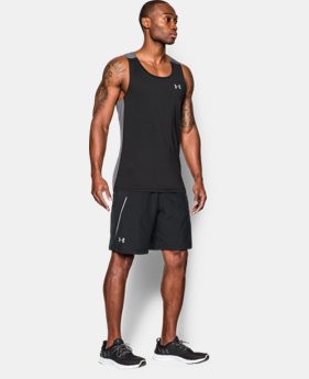 "New Arrival Men's UA Launch Run 9"" Shorts LIMITED TIME: FREE SHIPPING 1 Color $37.99"