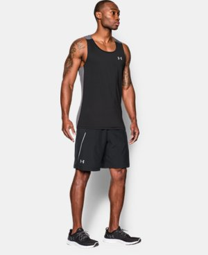 "New Arrival Men's UA Launch Run 9"" Shorts LIMITED TIME: FREE SHIPPING 1 Color $33.99"