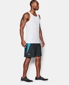 "Men's UA Launch Run 9"" Shorts  1 Color $33.99"