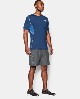 "New Arrival Men's UA Launch Run 9"" Shorts  1 Color $37.99"