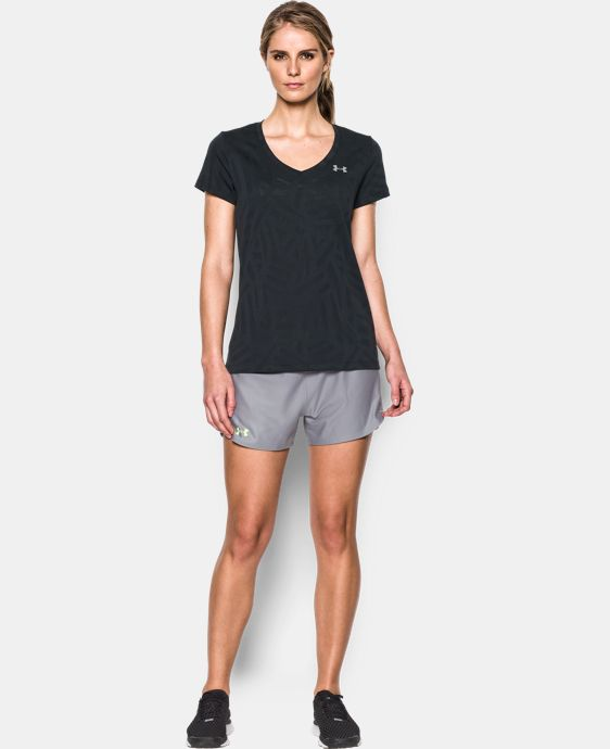 Women's UA Tech™ V-Neck - Jacquard  1 Color $29.99
