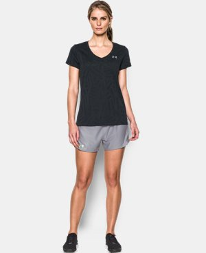 New Arrival  Women's UA Tech™ V-Neck - Jacquard LIMITED TIME: FREE SHIPPING 1 Color $22.99