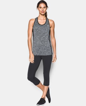 Women's UA Tech™ Tank - Color Block  1 Color $34.99
