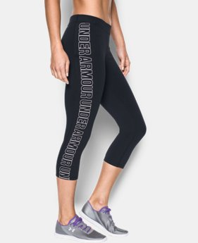 Women's UA Favorite Graphic Capris LIMITED TIME: FREE SHIPPING 1 Color $49.99