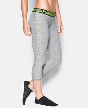 Women's UA Favorite Graphic Capris   1 Color $33.99