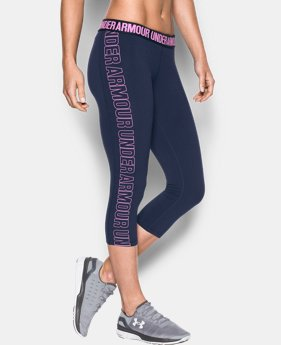 Women's UA Favorite Graphic Capris  1 Color $44.99