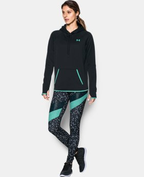 Women's UA Storm Armour® Fleece Icon Hoodie LIMITED TIME: FREE SHIPPING 2 Colors $48.74