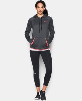 New Arrival  Women's UA Storm Armour® Fleece Icon Hoodie  1 Color $64.99