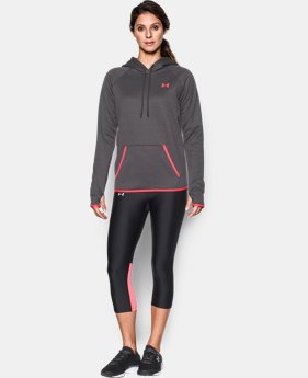 Women's UA Storm Armour® Fleece Logo Hoodie   $41.99