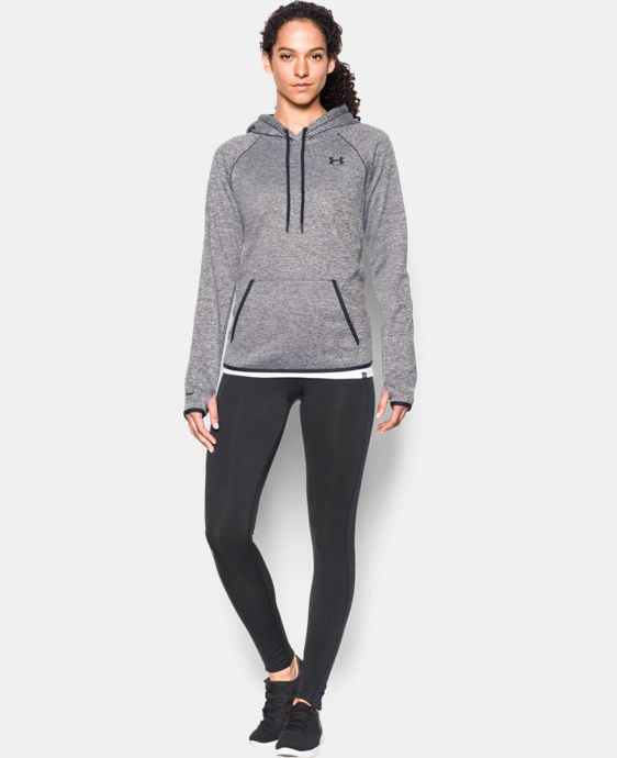 Women's UA Storm Armour® Fleece Icon Twist Hoodie LIMITED TIME OFFER + FREE U.S. SHIPPING  $39.99