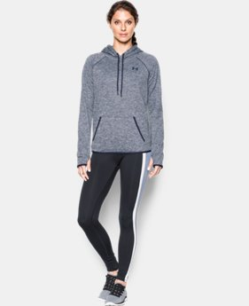 New Arrival  Women's UA Storm Armour® Fleece Icon Twist Hoodie  1 Color $69.99