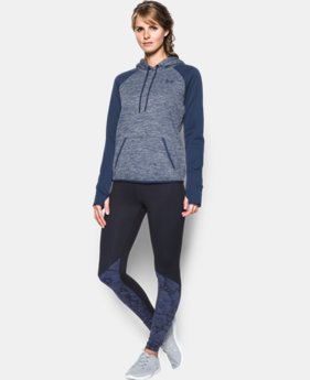 Women's UA Storm Armour® Fleece Logo Twist Hoodie   $41.99