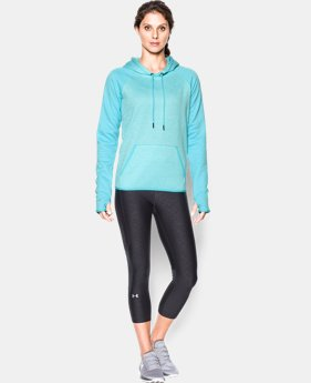Women's UA Storm Armour® Fleece Logo Twist Hoodie  1 Color $33.74 to $44.99