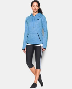 Women's UA Storm Armour® Fleece Logo Twist Hoodie   $31.49