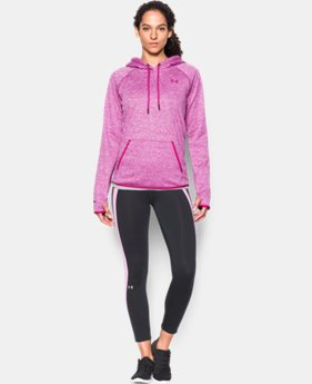 New Arrival  Women's UA Storm Armour® Fleece Icon Twist Hoodie LIMITED TIME: FREE SHIPPING 2 Colors $69.99