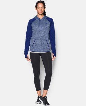 Women's UA Storm Armour® Fleece Logo Twist Hoodie  1 Color $31.49