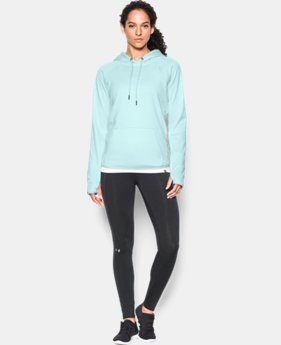 New Arrival  Women's UA Storm Armour® Fleece Icon Twist Hoodie   $69.99