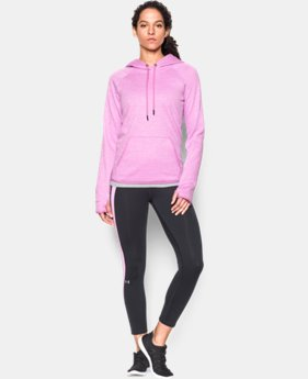 Women's UA Storm Armour® Fleece Logo Twist Hoodie  9 Colors $31.49
