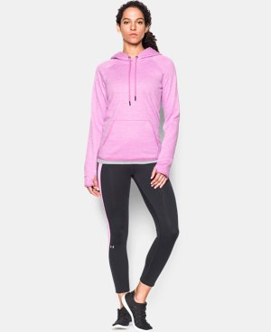 Women's UA Storm Armour® Fleece Icon Twist Hoodie LIMITED TIME: FREE SHIPPING 7 Colors $52.49