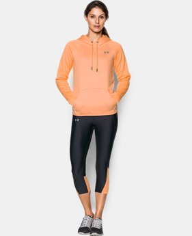 Women's UA Storm Armour® Fleece Icon Twist Hoodie  1 Color $44.99