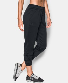 Women's UA Storm Armour® Fleece Lightweight Joggers - Twist LIMITED TIME OFFER 1 Color $39.99