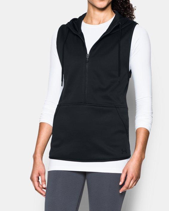 Women's  UA Storm Lightweight Armour Fleece® Vest, Black, pdpMainDesktop image number 0