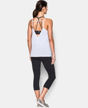 Women's UA Strappy Linen Tank  1 Color $41.99