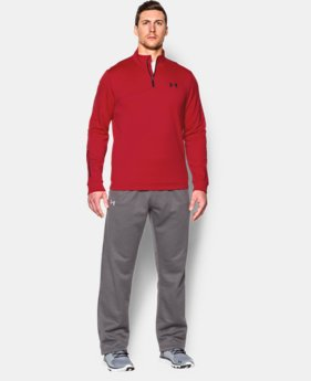 Men's UA Armour® Fleece ¼ Zip LIMITED TIME: FREE U.S. SHIPPING 1 Color $32.99 to $41.99
