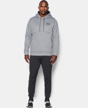 Best Seller Men's UA Storm Armour® Fleece Hoodie  4 Colors $54.99