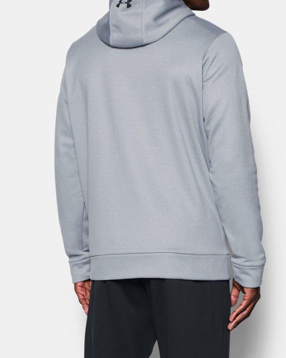 Men's UA Storm Armour Fleece® Hoodie, Gray, pdpMainDesktop image number 2