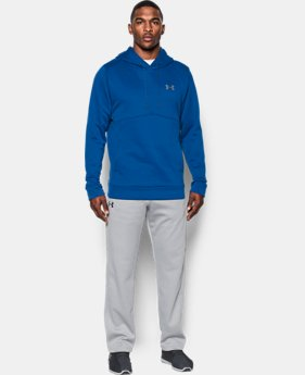 Best Seller Men's UA Storm Armour® Fleece Hoodie  1 Color $54.99