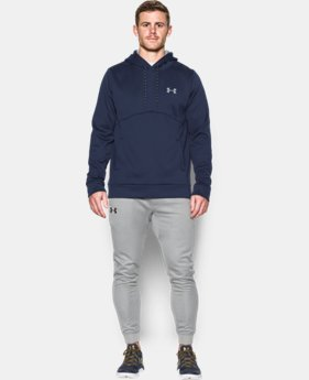 New Arrival  Men's UA Storm Armour® Fleece Hoodie  1 Color $64.99