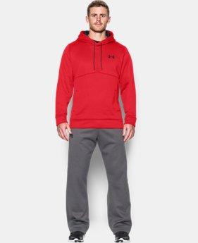 New Arrival  Men's UA Storm Armour® Fleece Hoodie   $64.99