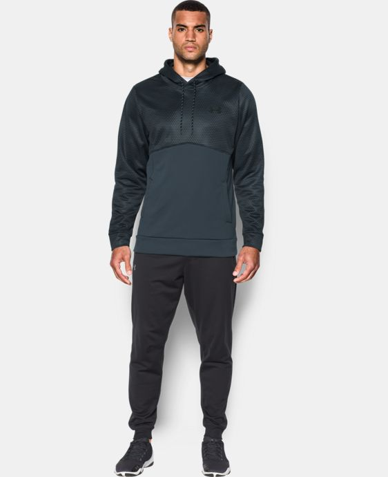 Best Seller  Men's UA Storm Armour® Fleece Patterned Hoodie  1 Color $69.99
