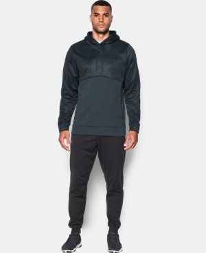 Men's UA Storm Armour® Fleece Patterned Hoodie LIMITED TIME: FREE SHIPPING 2 Colors $52.49